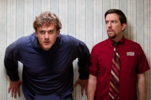 Jeff will Action - Pat ist skeptisch (Quelle: Paramount Home Entertainment)