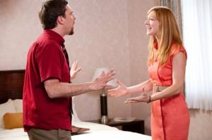 Die Ehe von Pat und Linda steht kurz vor dem Scheitern (Quelle: Paramount Home Entertainment)