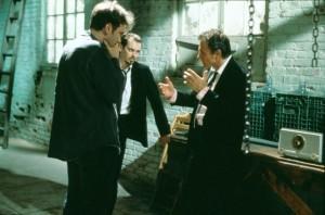 Tarantino mit Steve Buscemi und Harvey Keitel (Quelle StudioCanal)