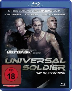"Das Blu-ray-Cover von ""Universal Soldier – Day of Reckoning"" (Quelle: StudioCanal)"