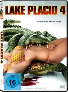 "Das DVD-Cover von ""Lake Placid 4"" (Quelle: Sony Pictures Home Entertainment)"