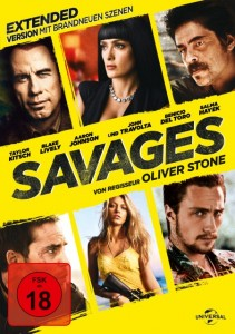 "Das DVD-Cover vom ""Savages""-Extended Cut (Quelle: Universal Pictures)"