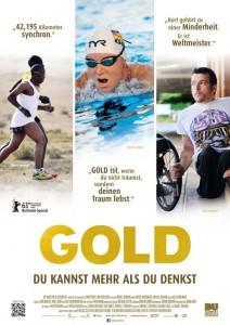 """Das Kinoplakat von """"Gold – Du kannst mehr als du denkst"""" (Quelle: NFP)"""