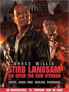 """Das Plakat von """"Stirb Langsam 5"""" (Quelle: 20th Century Fox)"""