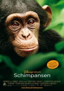 """Das Kinoplakat von """"Schimpansen"""" (Quelle: Disneynature)"""