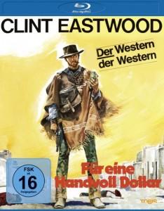 """Das Blu-ray-Cover von """"Für eine Handvoll Dollar"""" (Quelle: Universum Film)"""