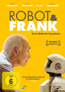 "Das DVD-Cover von ""Robot & Frank"" (Quelle: Senator Home Entertainment)"