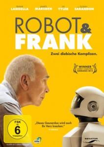 """Das DVD-Cover von """"Robot & Frank"""" (Quelle: Senator Home Entertainment)"""