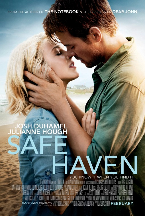 Das Kinoplakat von Safe Haven (Quelle: Senator Film)