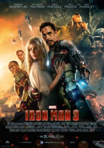 """Das Kinoplakat von """"Iron Man 3"""" (Quelle: Concorde Film)"""