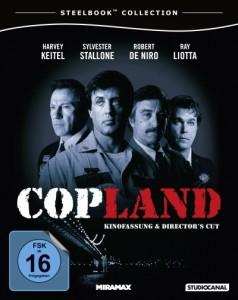 "Das Cover vom ""Cop Land""-Steelbook (Quelle: StudioCanal)"