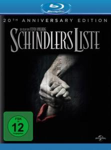 """Das Blu-ray-Cover von """"Schindlers Liste"""" (Quelle: Universal Pictures)"""