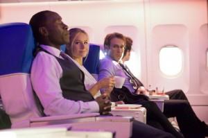 Als Unternehmensberater verbrint man viel Zeit im Flugzeug (Quelle: Paramount Home Entertainment)