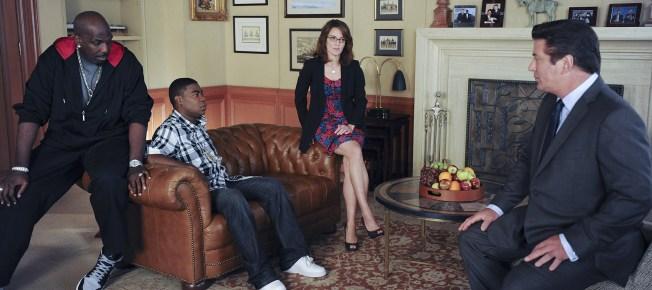 Wie immer müssen sich Jack und Liz mit Tracys Marotten auseinandersetzen (Quelle: Universal Pictures)