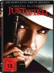 Das DVD-Cover der zweiten Staffel Justified (Quelle: Sony Pictures Home Entertainment)