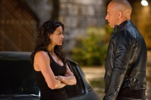 Dom sieht unerwartet Letty wieder (Quelle: Universal Pictures Germany)