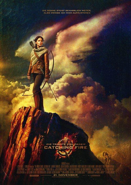 """Das neue Teaser-Plakat von """"Die Tribute von Panem - Catching Fire"""" (Quelle:StudioCanal)"""