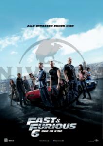 "Das Plakat von ""Fast & Furious 6"" (Quelle: Universal Pictures Germany)"