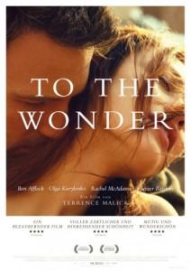 """Das Kinoplakat von """"To the Wonder"""" (Quelle: StudioCanal)"""