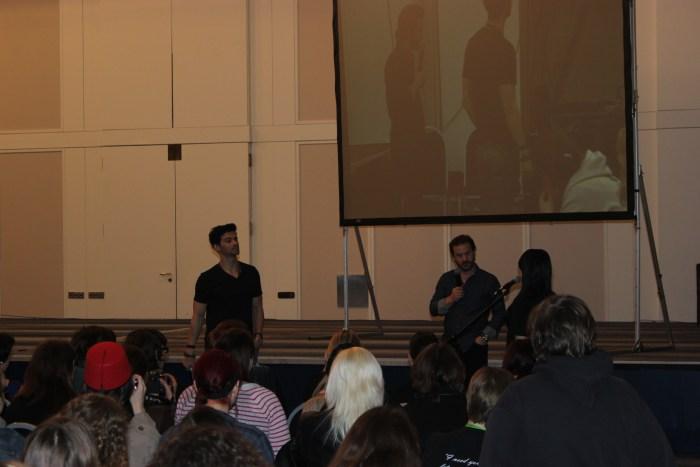 Matt Cohen und Richard Speight Jr. beim Sonntags-Panel (Bild: Thomas Trierweiler)