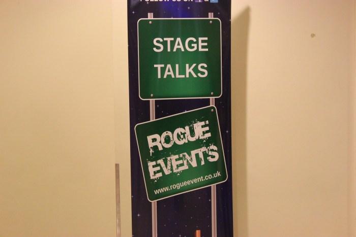 Auf zu den Stage Talks. (Bild: Thomas Trierweiler)