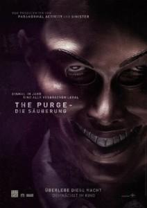 """Das Kinoplakat von """"The Purge - Die Säuberung"""" (Quelle: Universal Pictures Germany)"""