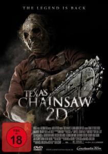 """Das DVD-Cover von """"Texas Chainsaw 2D"""" (Quelle: Constantin Film)"""