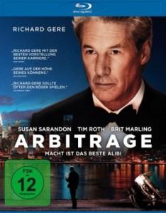 "Das Blu-ray-Cover von ""Arbitrage"" (Quelle: Universum Film)"