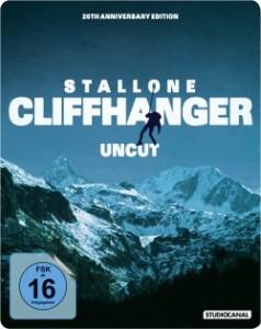 """Das Cover vom """"Cliffhanger""""-Steelbook (Quelle: StudioCanal)"""