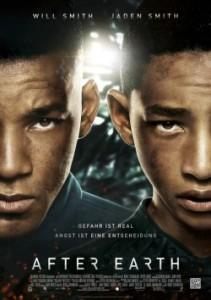 "Das Kinoplakat von ""After Earth"" (Quelle: Sony Pictures Germany)"