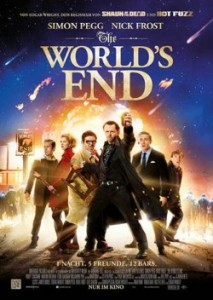 "Das Plakat von ""The World's End"" (Quelle: Universal Pictures Germany)"