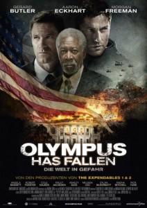"""Das Teaser-Plakat von """"Olympus has fallen"""" (Quelle: Universum Film)"""