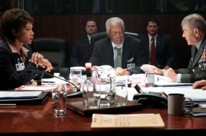 Regierungssprecher Trumbull leitet die Geschäfte der USA (Quelle: Universum Film)