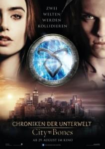 """Das neue Teaser-Plakat von """"Chroniken der Unterwelt"""" (Quelle: Constantin Film)"""