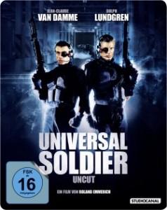 """Das Steelbook-Cover von """"Universal Soldier"""" (Quelle: StudioCanal)"""