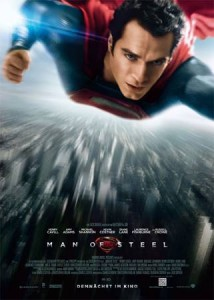 "Das neue Poster von ""Man of Steel"" (Quelle: Warner Bros. Germany)"