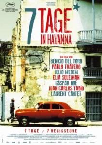"""Das Plakat zu """"7 Tage in Havanna"""" (Quelle: Alamode Film)"""