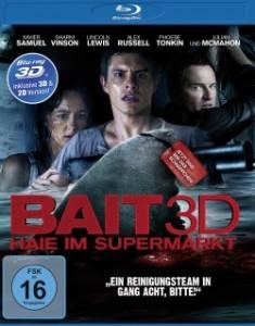 """Das Blu-ray-Cover von """"Bait - Haie im Supermarkt"""" (Quelle: Universum Film)"""