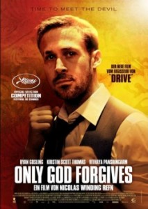 "Das Plakat von ""Only God Forgives"" (Quelle: Tiberius Film)"