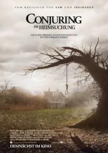 """Das Kinoplakat von """"Conjuring - Die Heimsuchung"""" (Quelle: Warner Bros.)"""