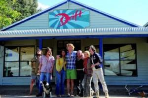 Andy erfreut sich mit Familie und Freunden seinen Lebenstraum (Quelle: Ascot Elite)