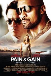 """Das Teaserplakat von """"Pain & Gain"""" (Quelle: Paramount Pictures)"""