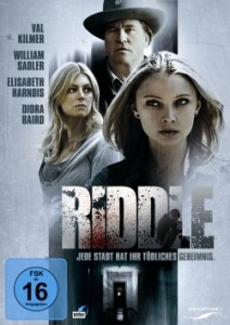 "Das DVD-Cover von ""Riddle"" (Senator Home Entertainment)"