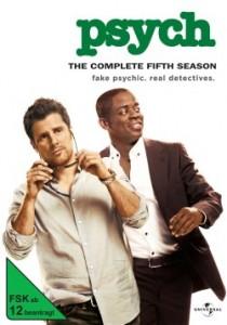 """Das vorläufige Cover von der fünften Staffel """"Psych"""" (Quelle: Universal Pictures Home Entertainment)"""