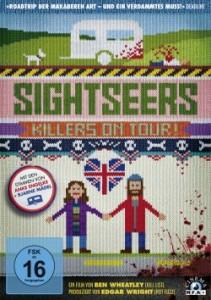 """Das DVD-Cover von """"Sightseers"""" (Quelle: MFA Film)"""