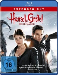 """Das Blu-ray Cover von """"Hänsel & Gretel - Hexenjäger"""" (Quelle: Paramount Pictures Home Entertainment)"""
