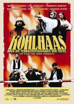 """Das Plakat von """"Kohlhaas oder die Verhältnismäßgkeit der Mittel"""" (Quelle: Missingfilms)"""