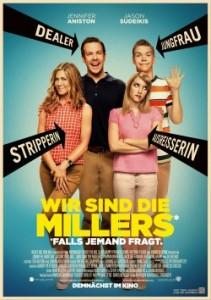 """Das Hauptplakat von """"Wir sind die Millers"""" (Quelle: Warner Bros.)"""