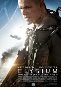 "Das Hauptplakat von ""Elysium"" (Quelle: Sony Pictures Germany)"