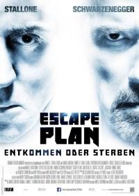 "Das Hauptplakat von ""Escape Plan"" (Quelle: Concorde Film)"
